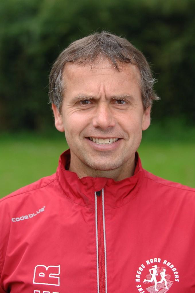 Trainer Albert Beekhuizen van het racingteam