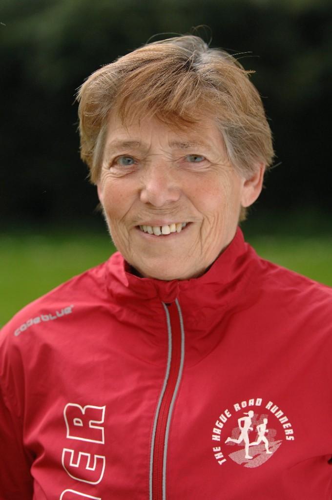 Nordic walking trainer Carla van Beelen