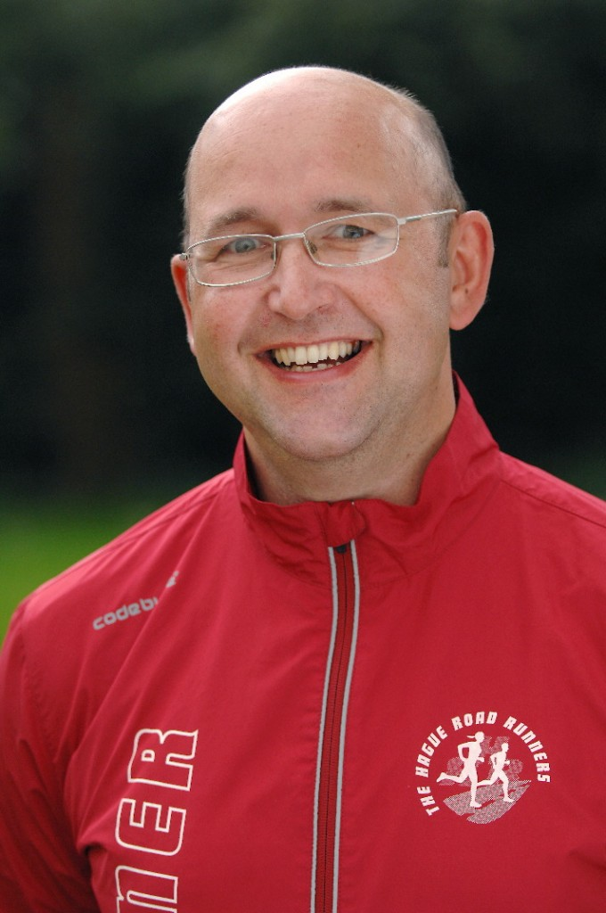 Trainer Eric Walther van the Hague Road Runners