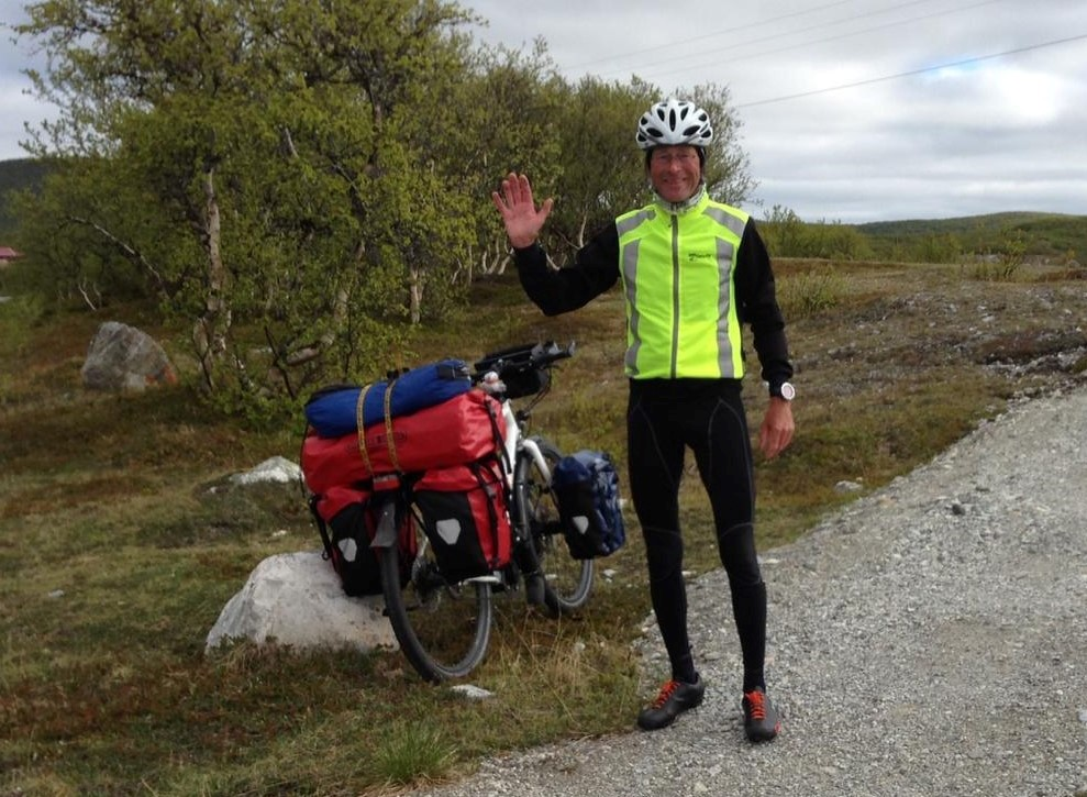 Pierre van Leeuwen: Arctic Marathon in Spitsbergen