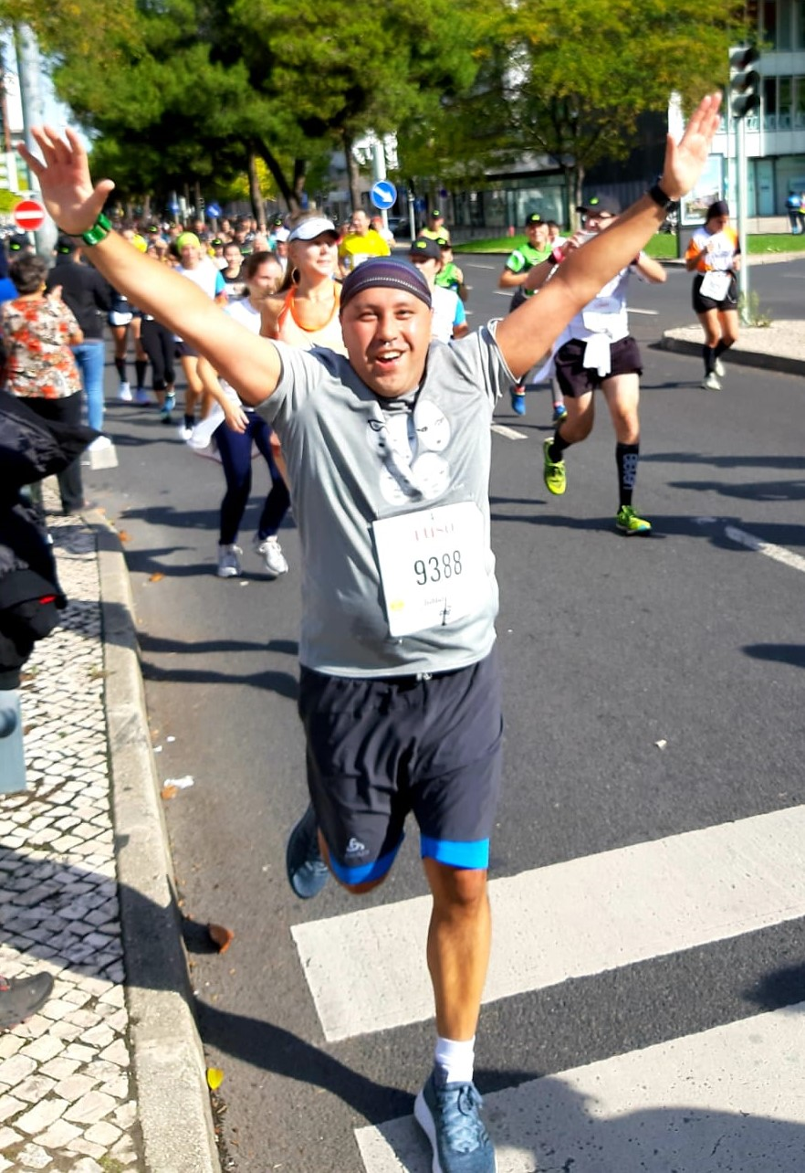 Robbert van Heerdt: halve marathon in Lissabon
