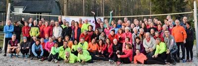 Groepsfoto trainingsweekend 2017
