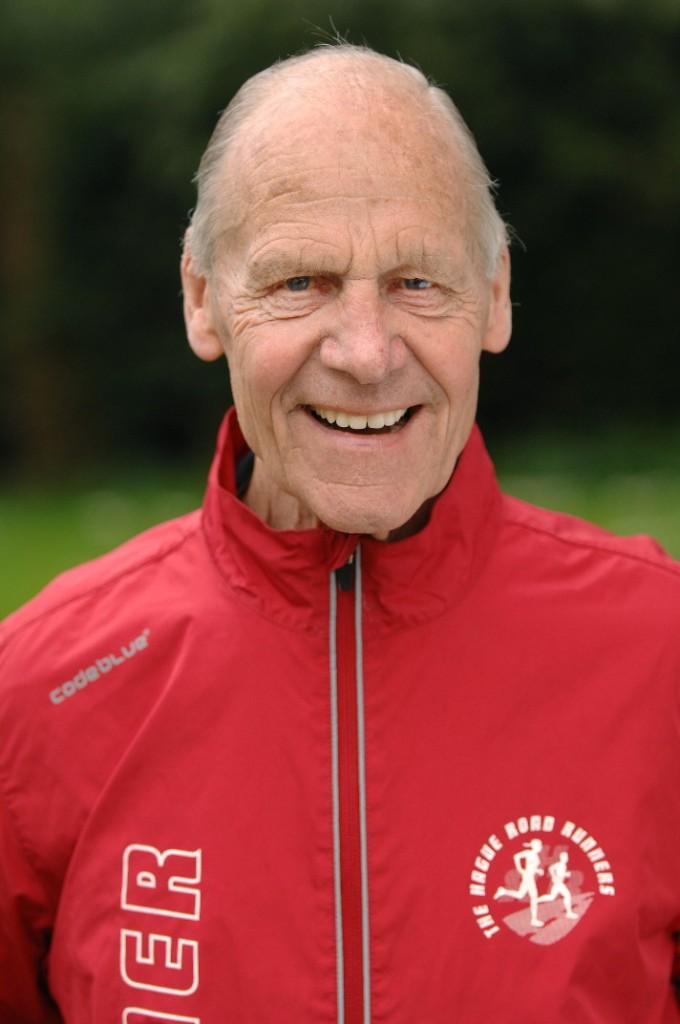Trainer Jan Ruigrok van de ochtend trainingen