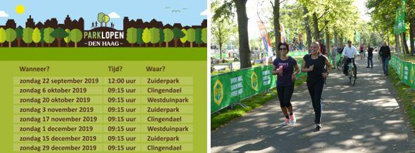 Volgende Parklopen Den Haag
