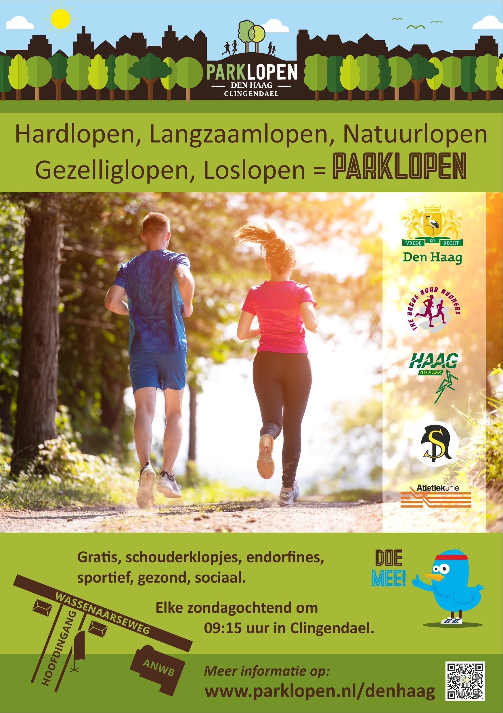 Parklopen in Den Haag