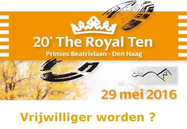 Vrijwilliger worden voor de Royal Ten