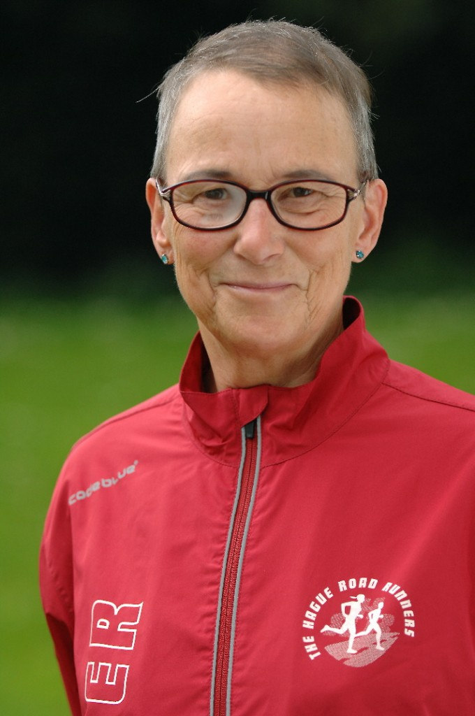 Nordic walking trainer Terry Roel