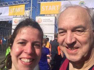 Nico van Wijk en dochter