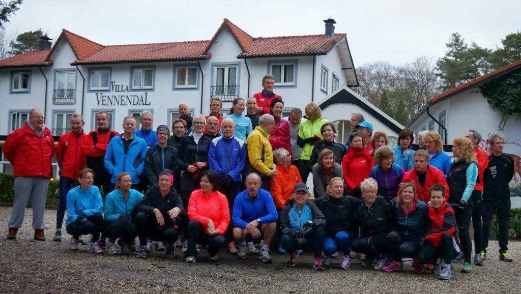 Trainingsweekend Hague Road Runners