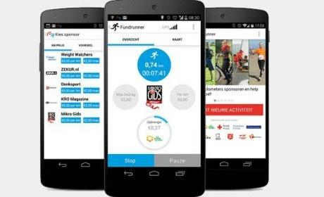 Fundrunner app