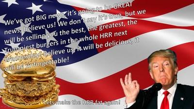 Trumpburger bij de HRR