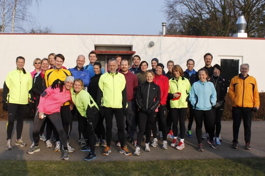 CPC 10 km trainingsgroep van de Hague Road Runners in 2013