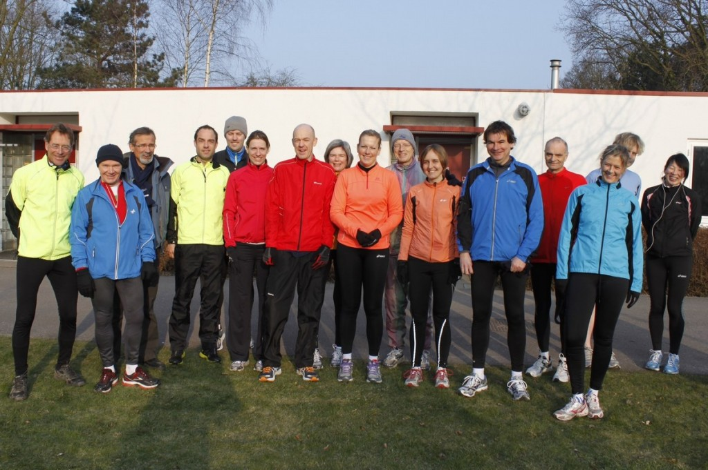 CPC 21 km trainingsgroep van de Hague Road Runners in 2013