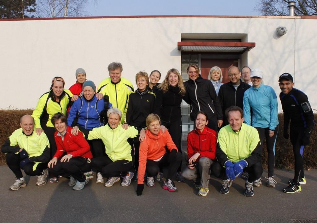 CPC 5 km trainingsgroep van de Hague Road Runners in 2013